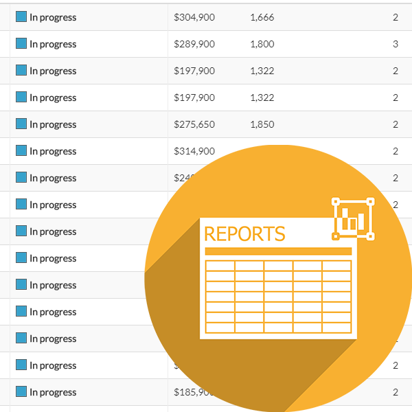 Find what you're looking for with reports