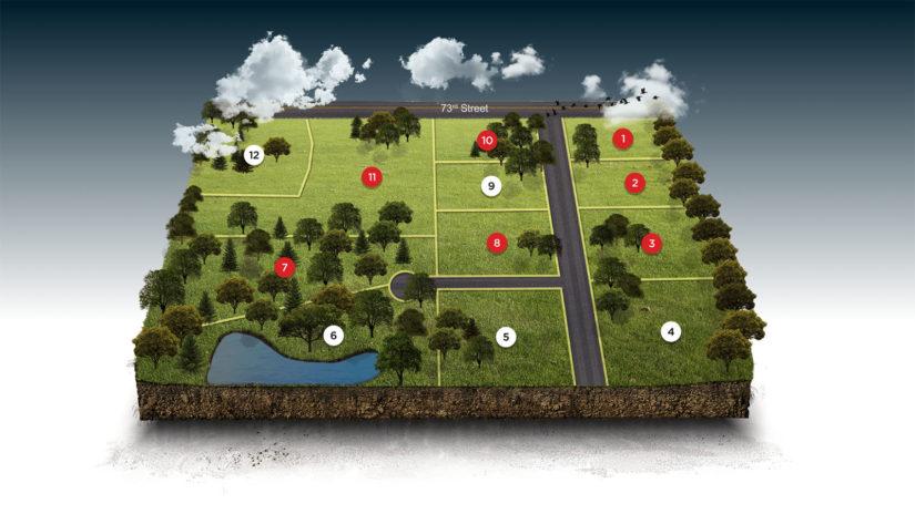 Interactive Plat Map: Summerlin Estates