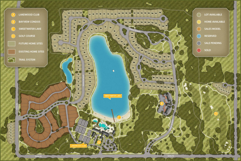 Interactive Plat Map: The Colony at The Grand
